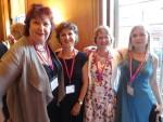 Sue Mackender, Adrienne Dines, Cathy Woodman, Gillian Holmes