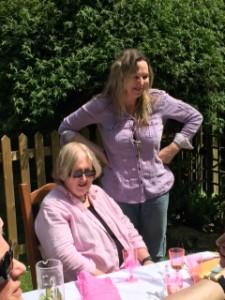 Jean Buchanan (sitting) and Catherine Lawless