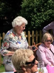 Julie Roberts (standing) with Maggi Fox & Jean Buchanan (sitting)