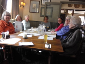 Barbara Hudson, Heather Rosser, Maggi Fox, me, Jean Fullerton, Janet Gover, Mary Nuttall
