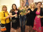 Jane Eastgate, Alison May, Sarah Waights, Lyn Vernham, Kathryn Freeman