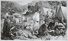 Small mining camp
