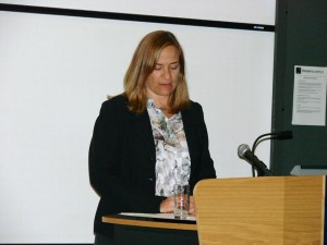 Tracy Chevalier, a keynote speaker
