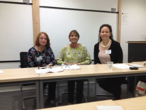 Far and Away. With fellow panellists Karen Maitland & Laura Morelli